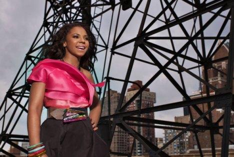 Ashanti à New York / Photo J. Goldberg / Kamerun Scoop