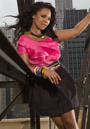 Ashanti Douglas à New York / Photo J. Goldberg / Kamerun Scoop