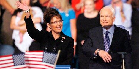 Sarah Palin et John McCain