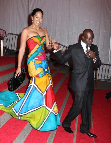 KIMORA LEE et DJIMON HOUNSOU