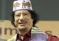 Kadhafi/EPA