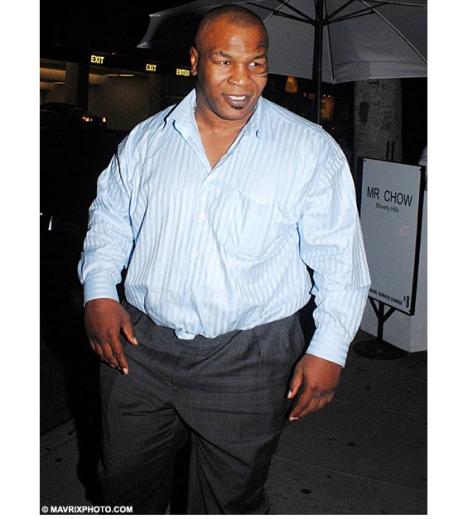 Mike Tyson fait du sport