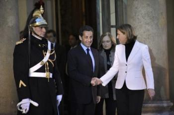 Nicolas Sarkozy- Tzipi Livni