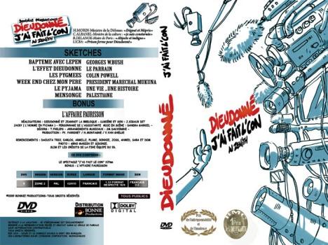 """Jaquette DVD """"j'ai fait le con"""""""