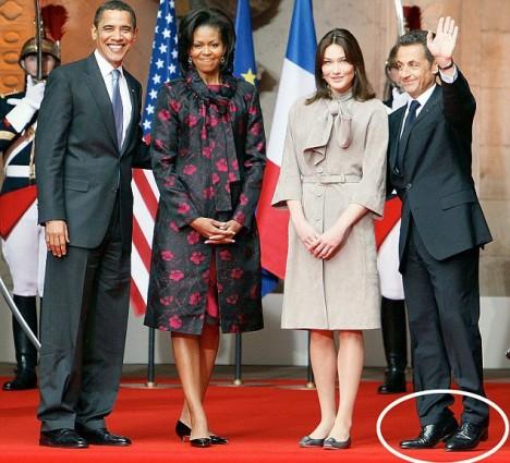 Regardez comment Sarkozy triche