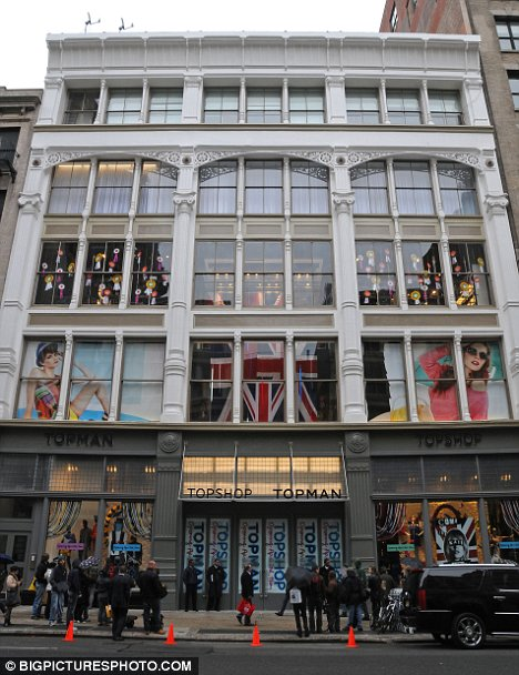 Magasin Topshop/ New York