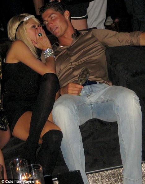 Paris Hilton et Ronaldo très proches