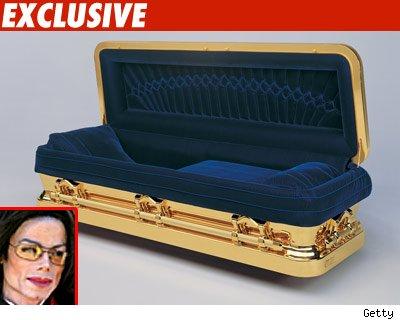 cercueil de michael
