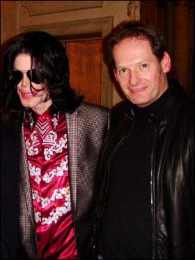 Michaêl Jackson et Mark Lester